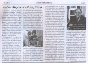 miedzyrytzecz Press in Polish