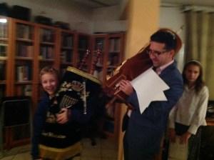 Simchat Torah at Beit Warszawa