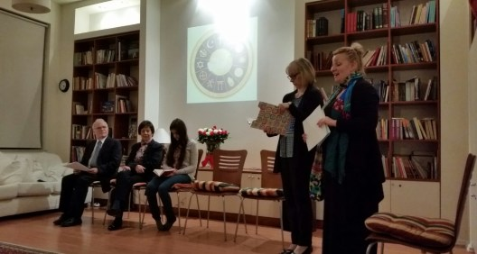 Meeting different denominations at the Bahai center in Warsaw 18.1.15