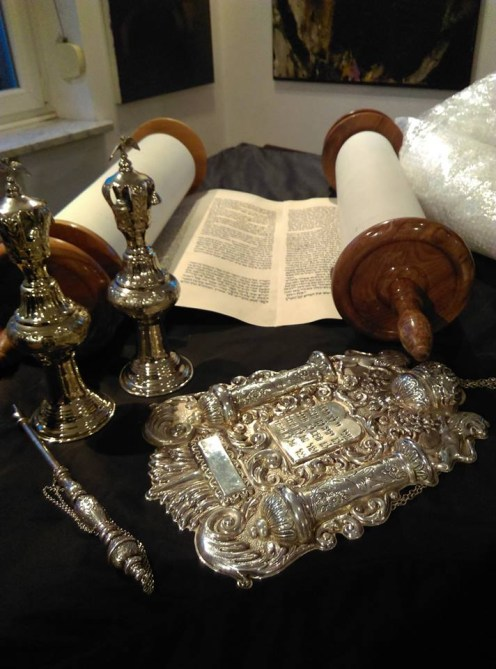 Torah checked on the evening of March 24, 2017