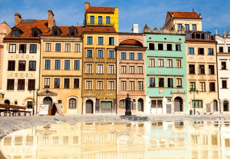 photo Morning In Warsaw