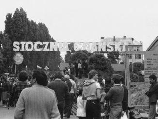 Stocznia Gdańska - Shipyard Gdansk Poland 1980