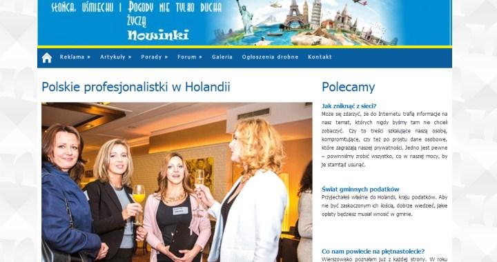 Nowinki.nl - Wywiad - Monika Boomgaard