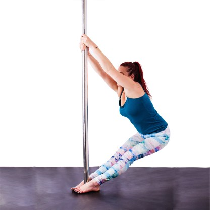 Center Pose, Pole Yoga