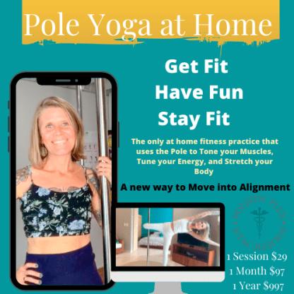 pole Yoga at home