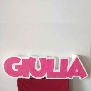 Nome Porta Confetti in Polistirolo