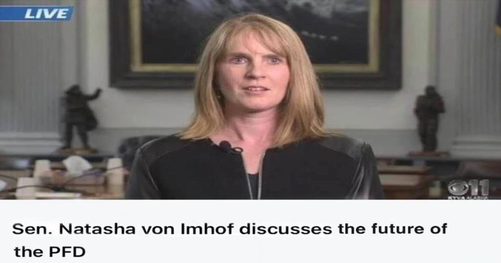 Senator Natasha von Imhof how to steal the PFD