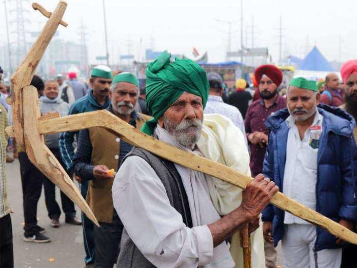 अब गुरुवार को जंतर-मंतर पर 'किसान संसद'(file photo)
