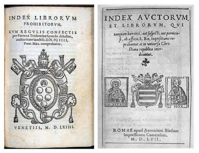 Index prohipitorum