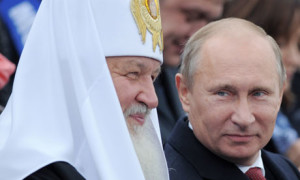 Vladimir Putin and Patriarch Kiril