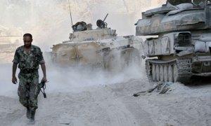 Syrian army soldier