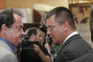 Bookfest la Romexpo-Vasile Blaga,Traian Ungureanu