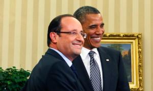 Obama meets Hollande