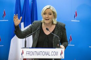 First round of 2014 French munipal election