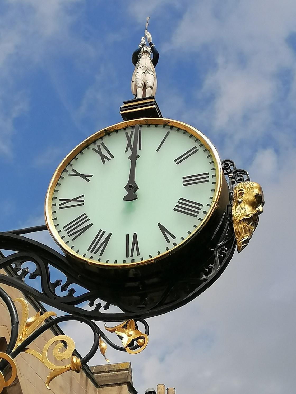 The Clock of Coney Street York