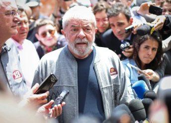 Lula. Foto: Ricardo Nogueira/EFE