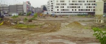 empty lot in Poland
