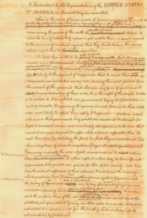 Jefferson's views independence