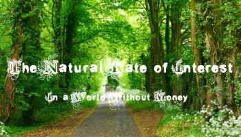 Wicksell - natural rate of interest defined without money
