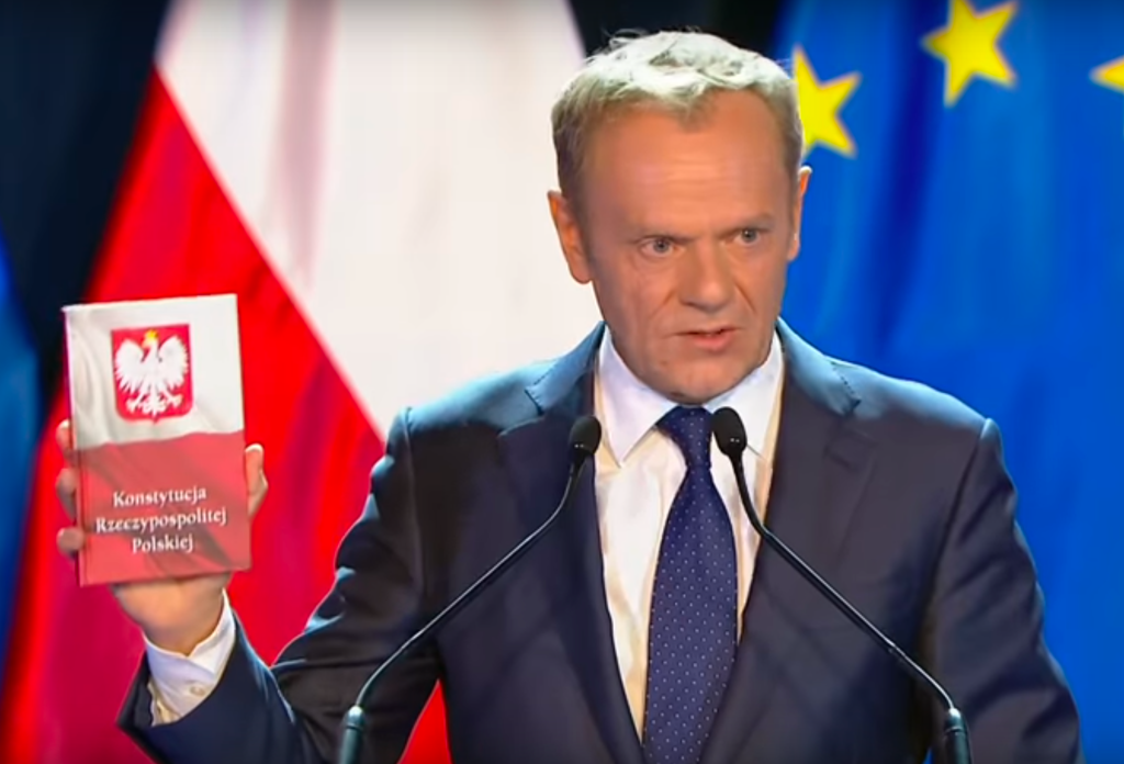 Donald Tusk writes a book