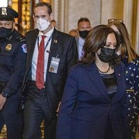 Senate Advances Biden's $1.9 Trillion Relief Package, as VP Harris Casts Tiebreaking Vote