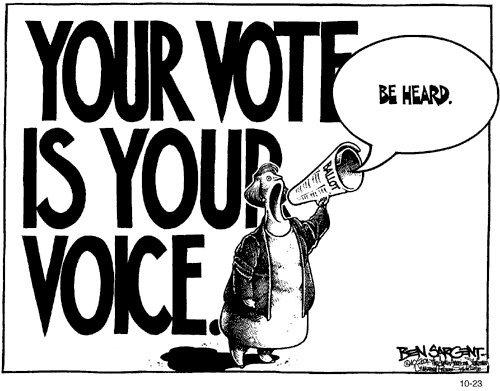 Vote comic