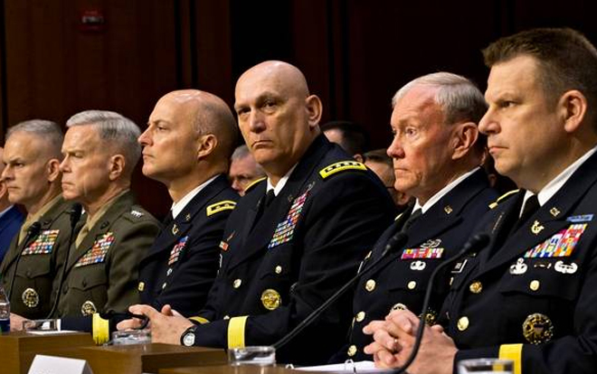 Image result for generals under trump