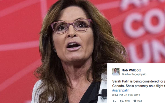 Image result for sarah palin twitter