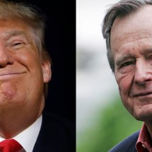 Trump Wants Headpats For Sending Air Force One To Transport Body of Pres. Bush To Washington, DC