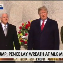 Trump Spends a Whopping ONE MINUTE at Martin Luther King Jr. Memorial After Facing Backlash