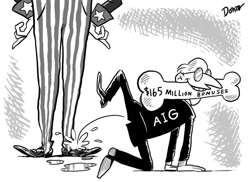 aig cartoon