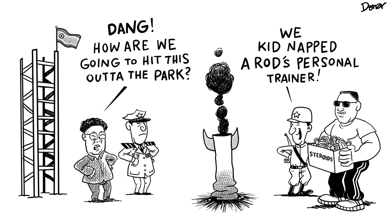north korea cartoon