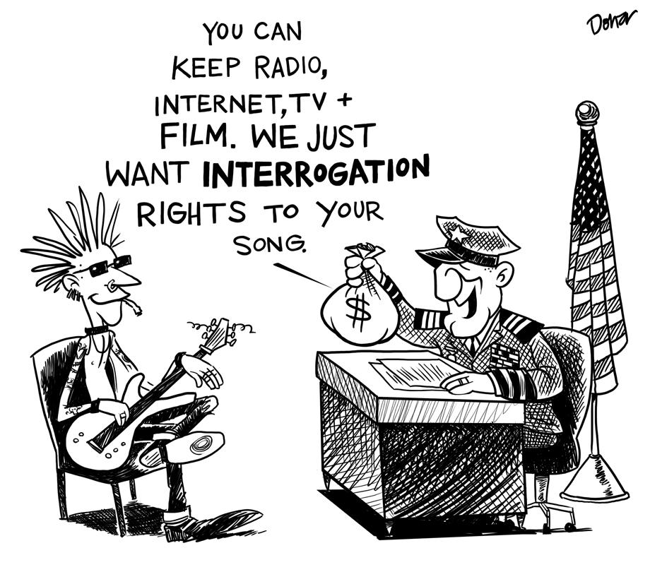 interrogation cartoon