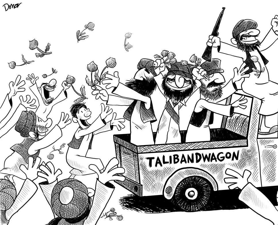 talibandwagon cartoon