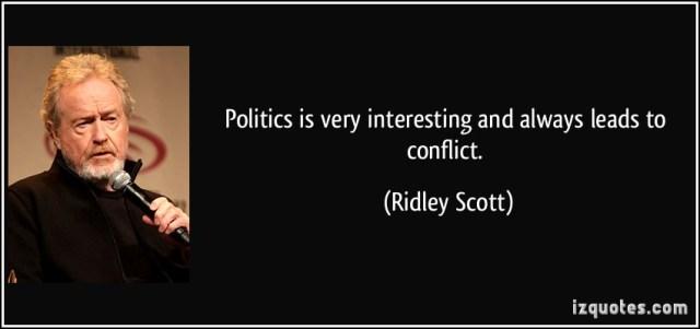 Politics is interesting