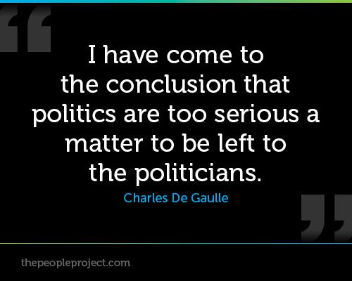 Politics too interesting