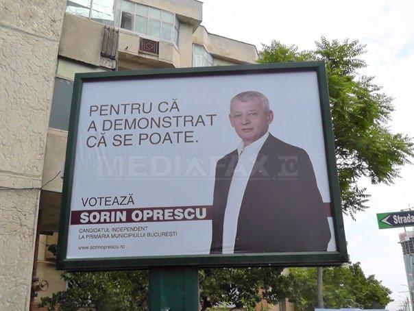 Sorin Oprescu Candidat independent