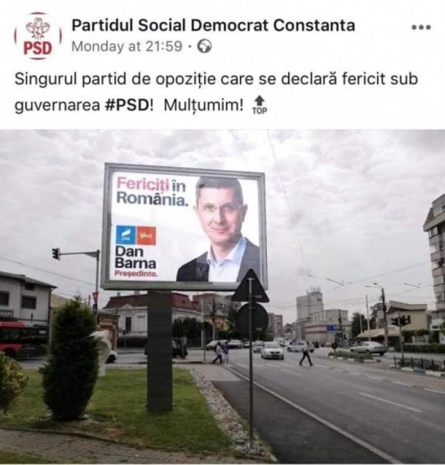 Dan Barna fericiti in Romania