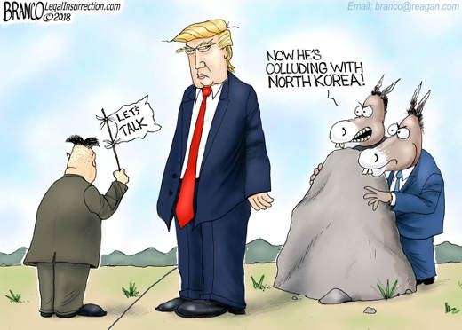 kim-jong-un-trump-now-colluding-with-north-korea democrats