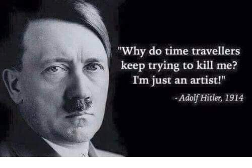 why-do-time-travelers-keep-trying-to-assassinate-hitler-only-artist
