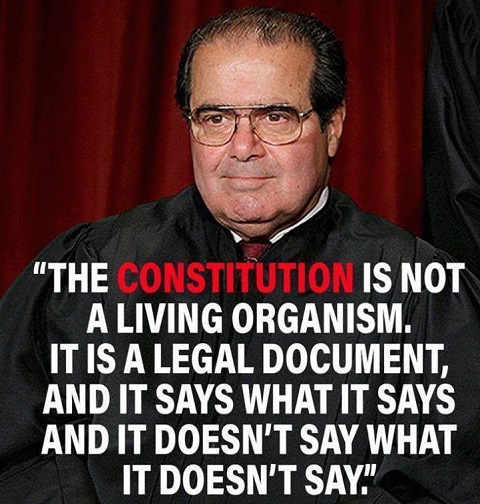 antonin-scalia-quote-constitution-is-not-living-organism-it-is-document