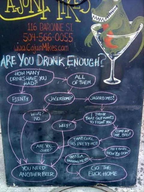 are-you-drunk-enough-bar-sign-flowchart