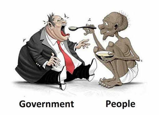 government-being-fed-by-skinny-people