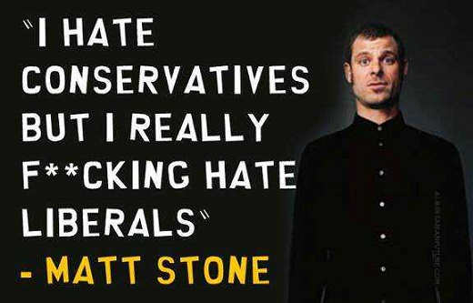 i-hate-conservatives-and-liberals south park matt stone