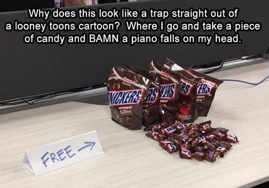 looney-toons-cartoon-trap-snickers