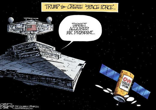 trump-to-establish-space-force-cnn-satellite-uplink-targetted