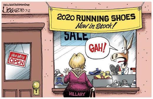 2020-hillary-running-shoes-democrat-panic