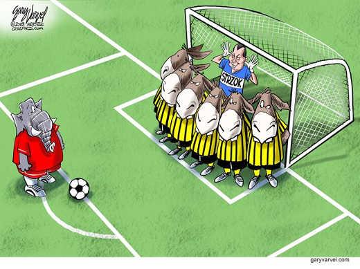 Republicans-soccer-kick-peter-strzok-democrats-goalies