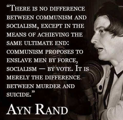 ayn-rand-no-difference-between-communism-and-socialism-except-means-in-achieving-same-end
