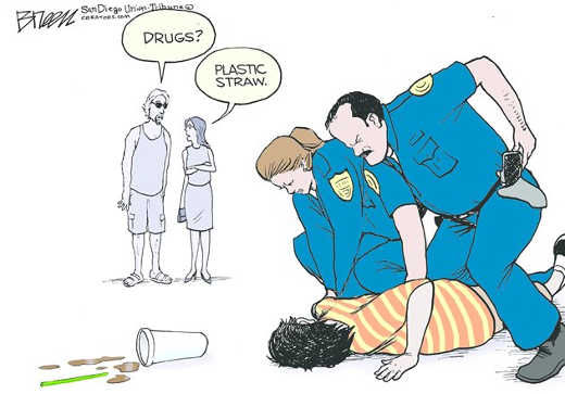 drugs-no-plastic-straw-cops-arresting-kid